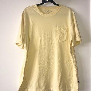 Nautica Pastel Yellow Shirt